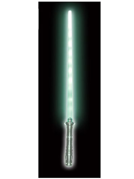 29 inch light up green swords -WEB
