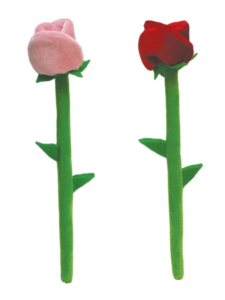 """12"""" Plush Roses"""