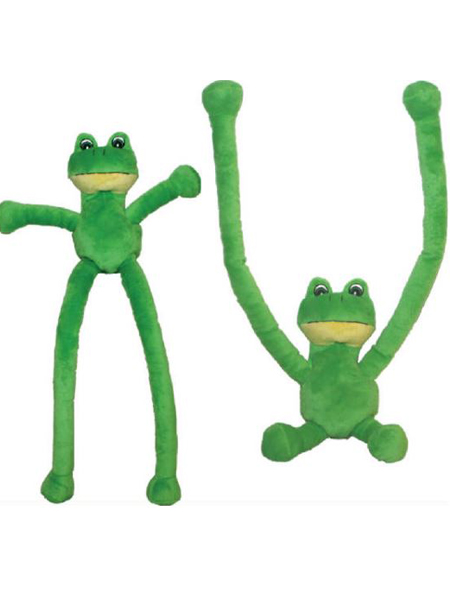 "27"" Plush Long Arm-Sliding Frog"