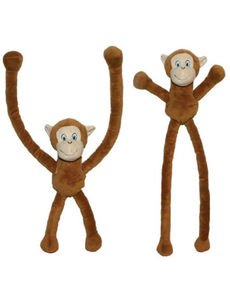 "27"" Plush Long Arm-Sliding Monkey"