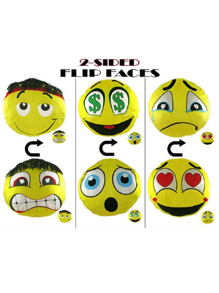 8 inch 2 sided faces -WEB