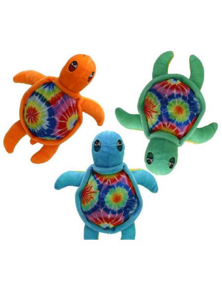 8 inch tie die turtle -WEB
