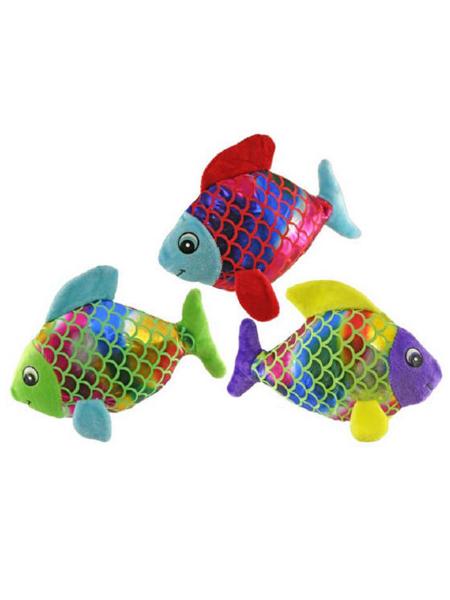 """9"""" Plush Shimmer Fish"""