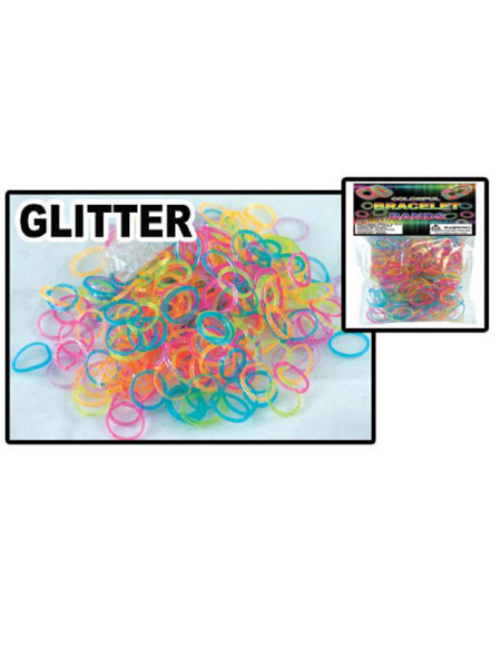 Glitter Loom Bracelet Band Bag