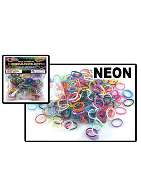 Neon Loom Bracelet Band Bags -WEB